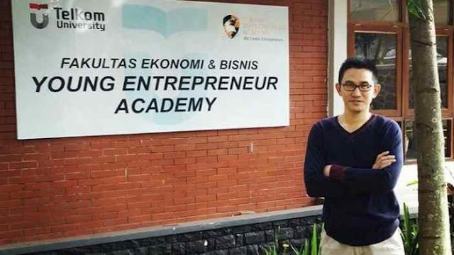 Jaya Setiabudi pengusaha muda Indonesia