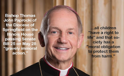 Springfield Bishop condemns 'gravely immoral action' of Illinois House passing 'radical' pro-abortion Reproductive Health Act