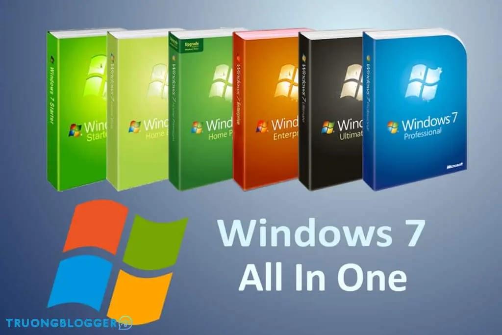 Tải về bộ cài Windows 7 All in One Update mới nhất 2021