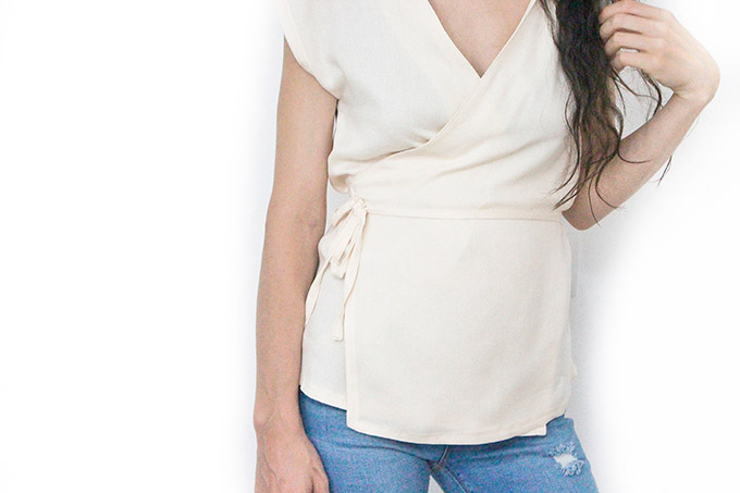 como-coser-blusa-cruzada-facil