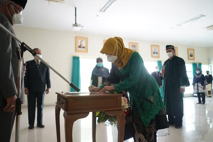 GBPH Prabukusumo Lantik Dokter Alida Lienawati Jadi Direktur Utama Rumah Sakit Mata Dr Yap