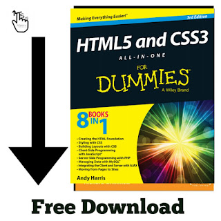 Free Download PDF Of HTML And CSS