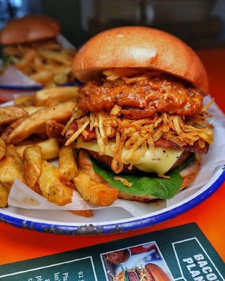 Hamburguesa de Honest Burgers en Londres