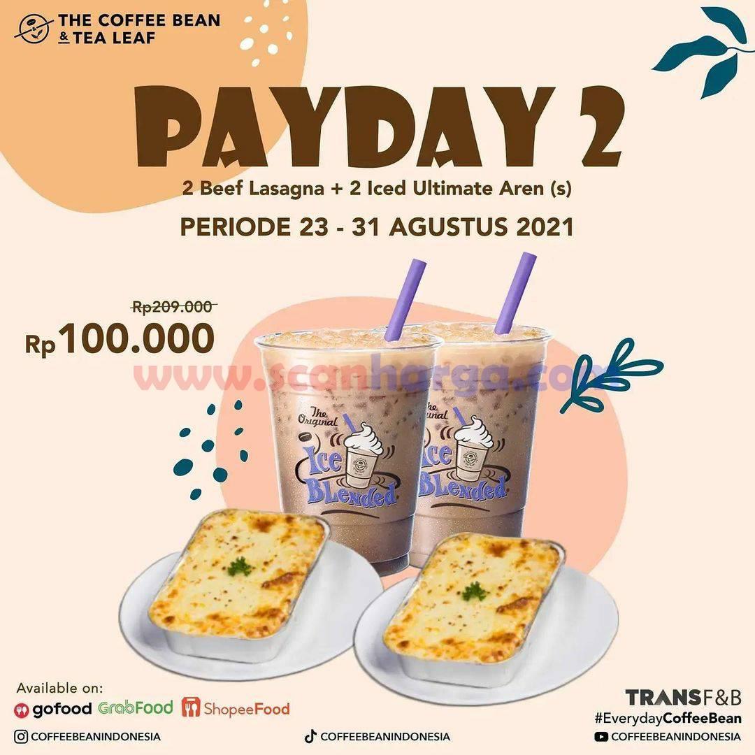 The Coffee Bean Payday Promo 2 varian Paket - harga mulai Rp. 90.000,- 2
