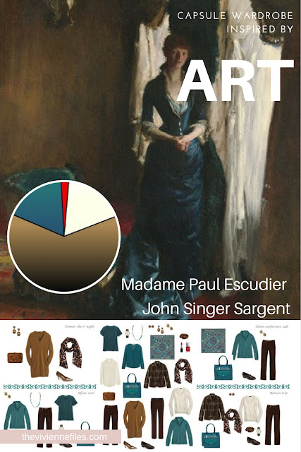 How to build a Travel Capsule Wardrobe by Starting with Art: Madame Paul Escudier by John Singer Sargent