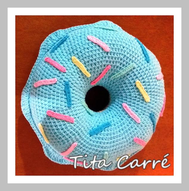 Almofada Donut com cobertura