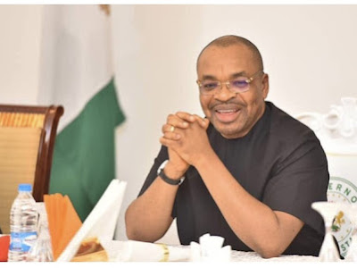 Akwa Ibom Drainage Project To Be Completed December, Says Governor Udom Emmanuel