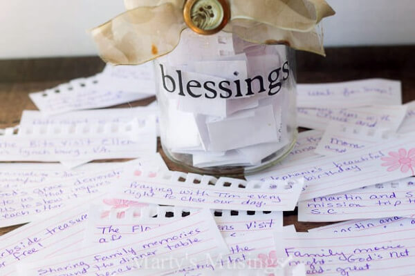 family blessings jar