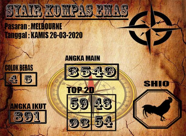 MELBOURNE 26-03-2020