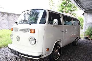 Dijual VW Kombi Putih 74 Harga Monzrot