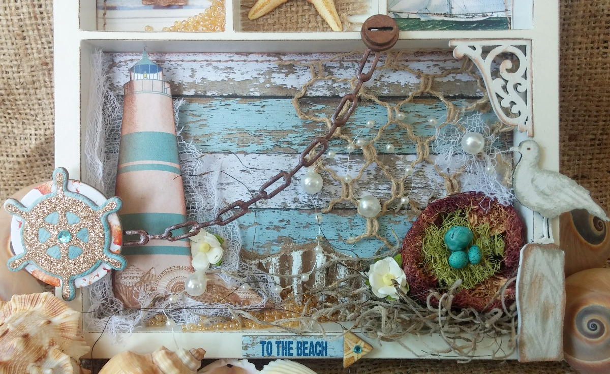 10 Beach Inspired Projects - Sand and Sisal  |Beach Inspired Art