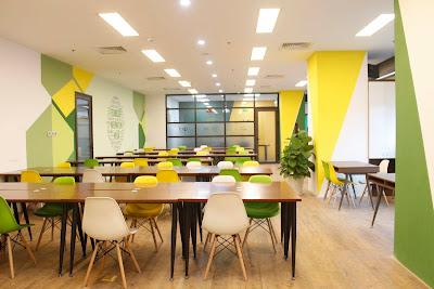 Địa chỉ bán bàn ghế setup văn phòng co-working space tại HCM - 3