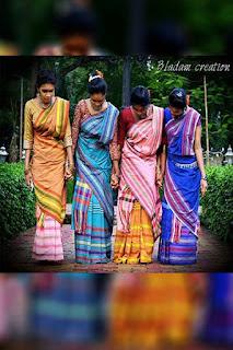 Santhali Traditional dress