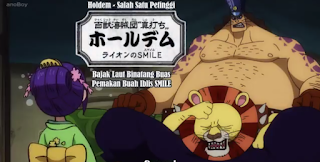 preview anime one piece episode 901 I Tama Bertemu Holden