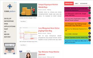 Cara Membuat Dan Menambahkan Sidebar Widget Di Bagian Kiri Post