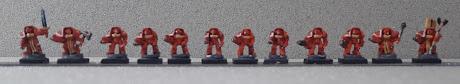 Micro Space hulk, les marsouins