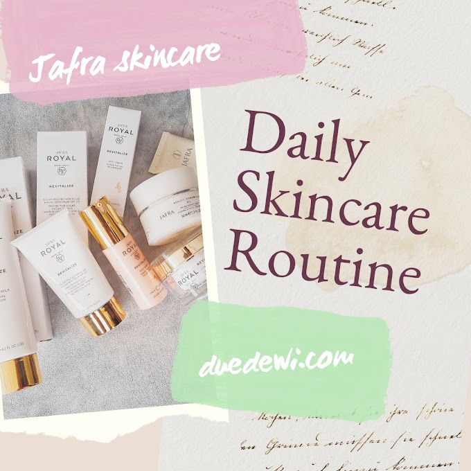 Daily Skincare Routine with JAFRA