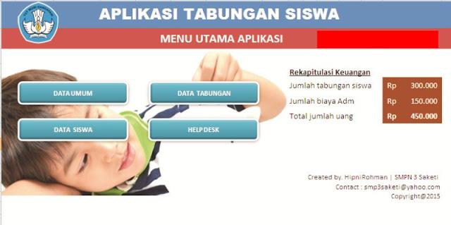Download Aplikasi Tabungan Siswa Versi Terbaru