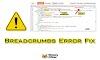 Breadcrumbs Error Data-vocabulary.org schema Fixed Easy Way
