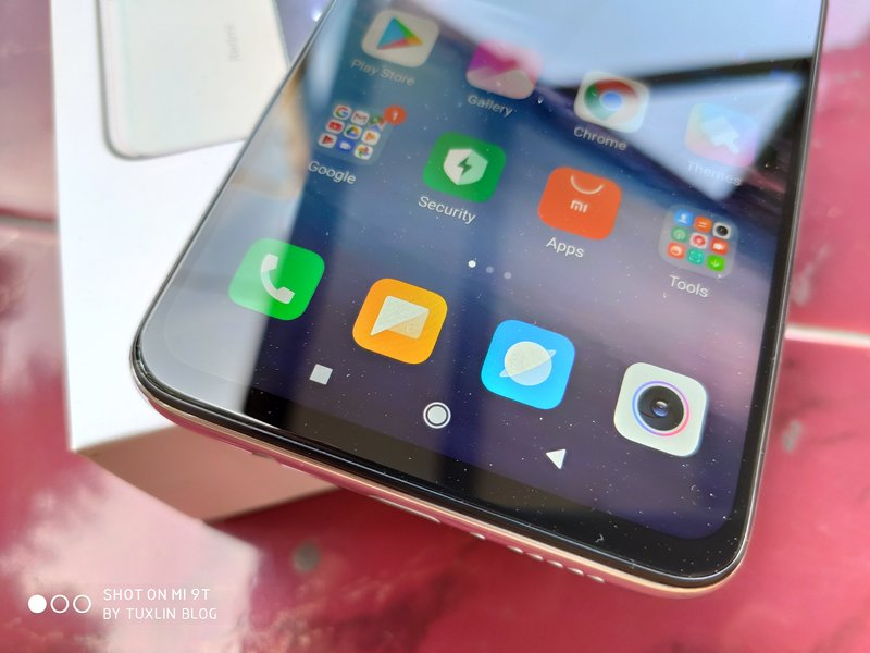Desain Xiaomi Redmi Note 8 Pro