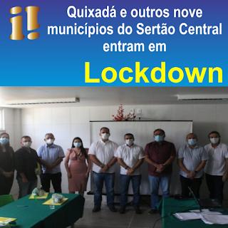 lockdown em Quixadá