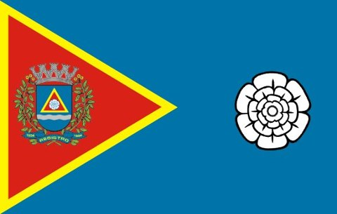 Bandeira de Registro-SP