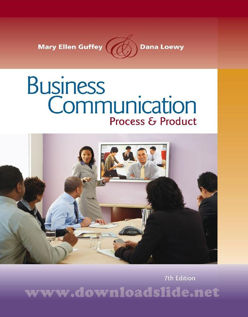 contemporary business communication 7th edition ppt Buy contemporary business communication 7th edition (9780618990481) by scott ober for up to 90% off at textbookscom.