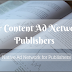 Popular Content Ad Networks List for Publishers [Top 05 Native Ad] Hindi me