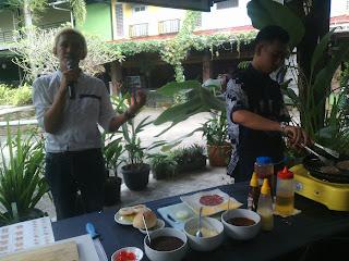 demo di bless coffee Jogja paradise food court