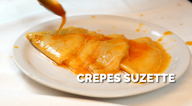 french crepes suzette
