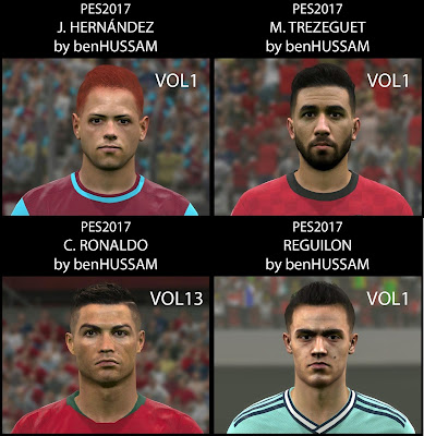 PES 2017 Facepack June 2019 by BenHussam Facemaker