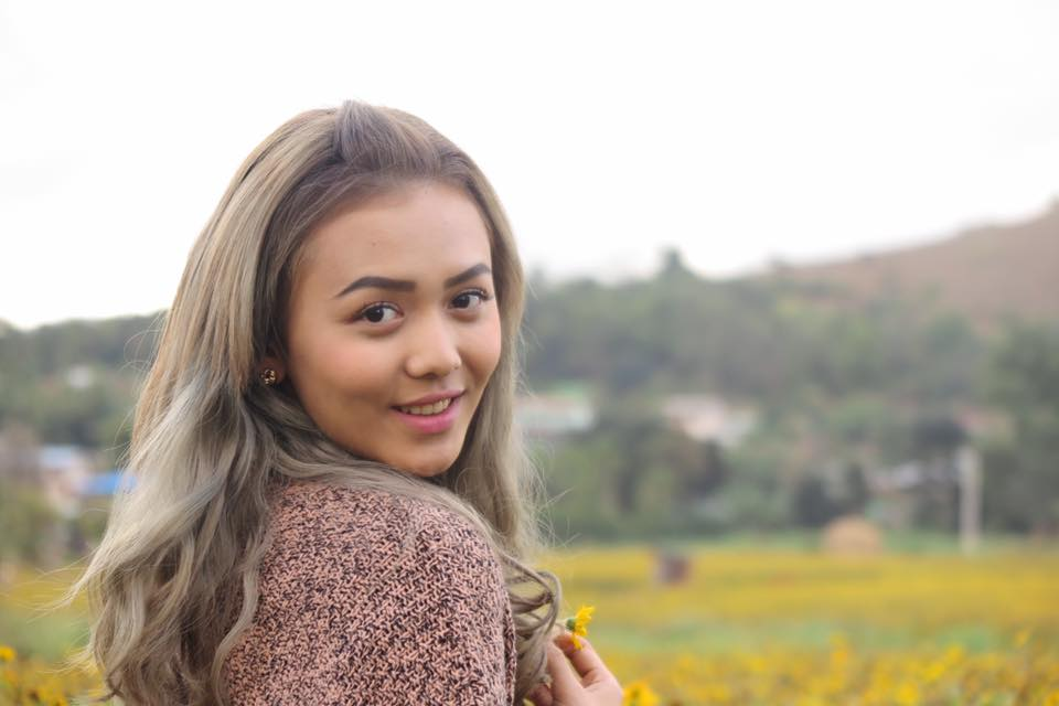 Shwe Mhone Yati Beautiful Hair Style and Portrait Shots