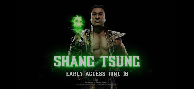 Shang Tsung MK11 Blog Mineira sem Freio
