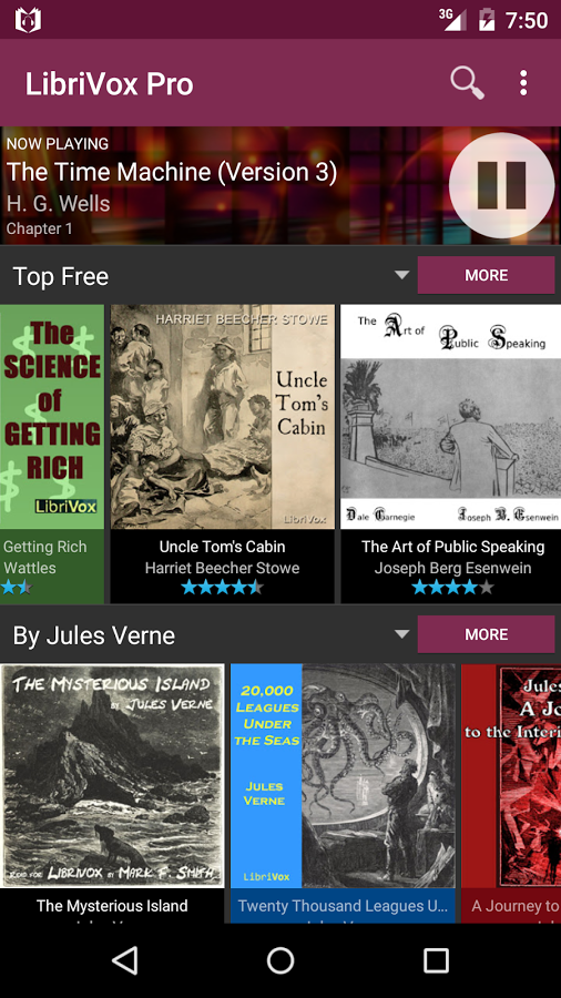 Audio Books LibriVox App For Android Phone Latest Version - April 2019