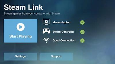 ﺗﻄﺒﻴﻖ Steam Link يمكنك من لعب الألعاب الموجودة في جهاز الكمبيوتر على الهاتف الذكي و بنفس جودة عرضها على الكمبيوتر