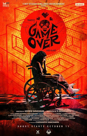 Poster Of Bollywood Movie Game Over 2019 300MB Pdvd Full Hindi Movie