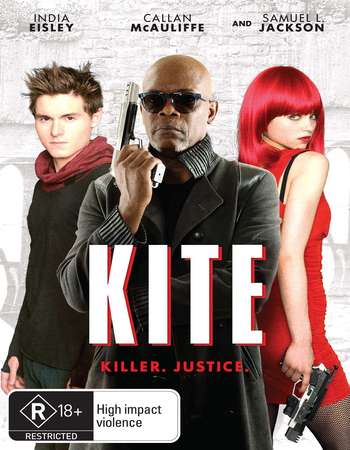 Poster Of Kite 2014 Dual Audio 300MB BRRip 480p ESubs Free Download Watch Online Worldfree4u