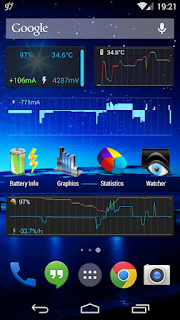 3C Battery Monitor Widget Pro - 1