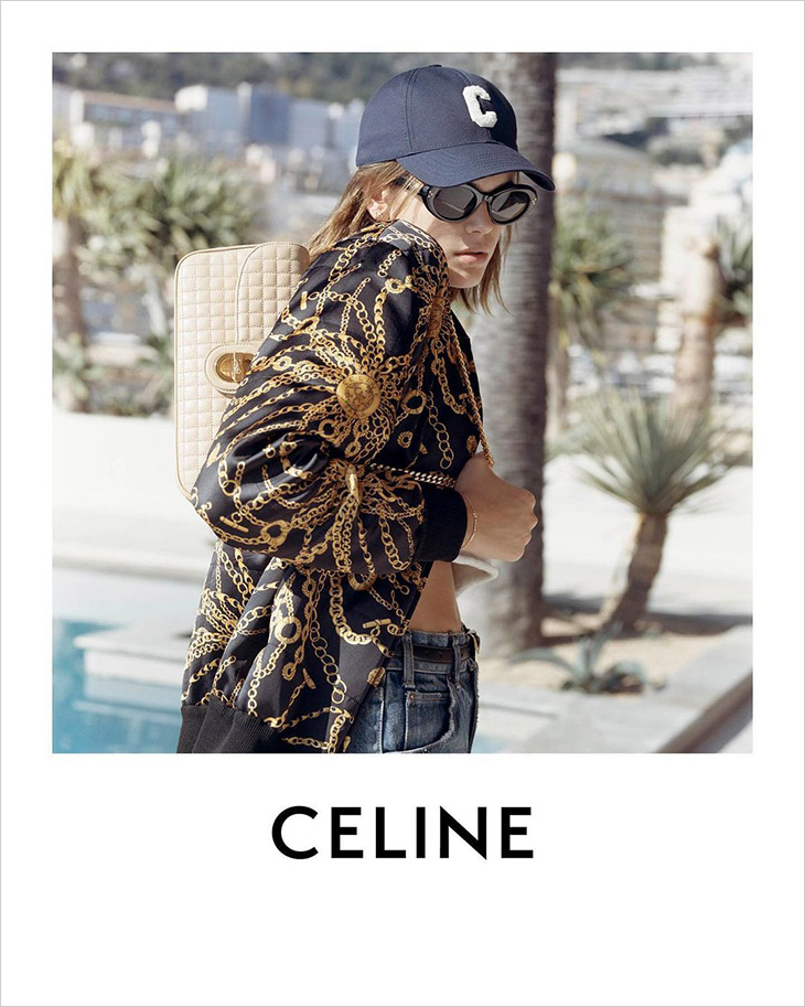 Luxury house CELINE enlists top model Kaia Gerber to star in their Summer 2021 campaign