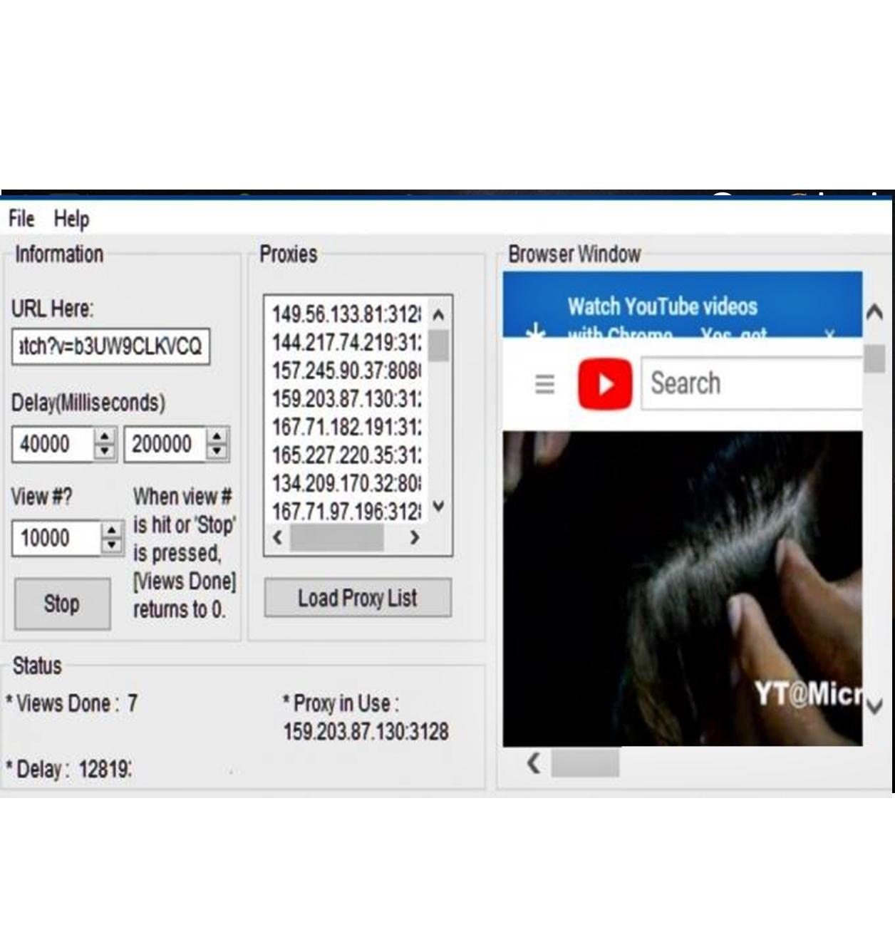 Jual Youtube tools bot premium + views unlimited