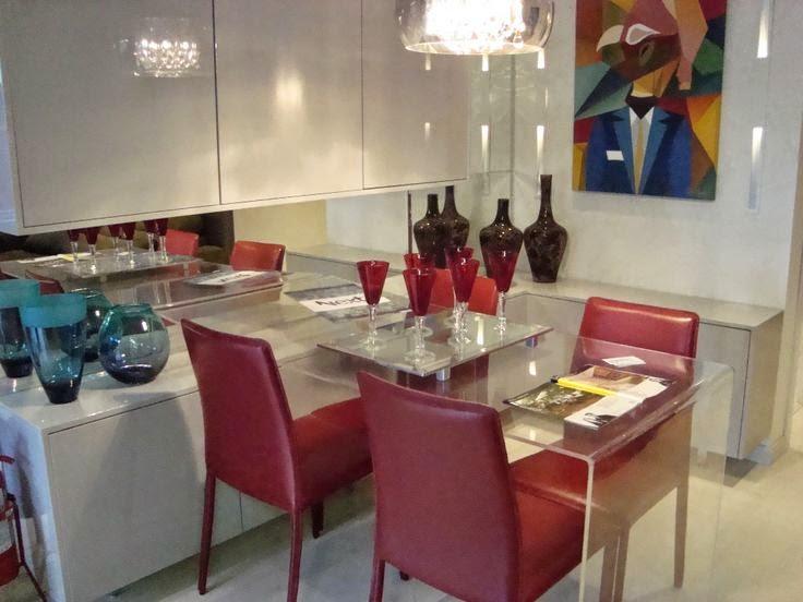 cor na sala de jantar - sala de jantar colorida