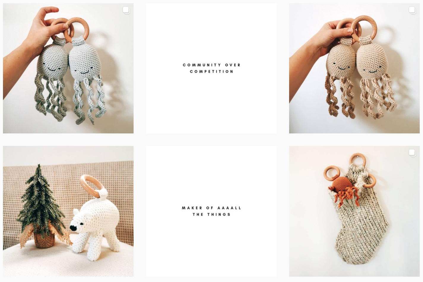 Shop small this Christmas: Baby & toddler gifts.