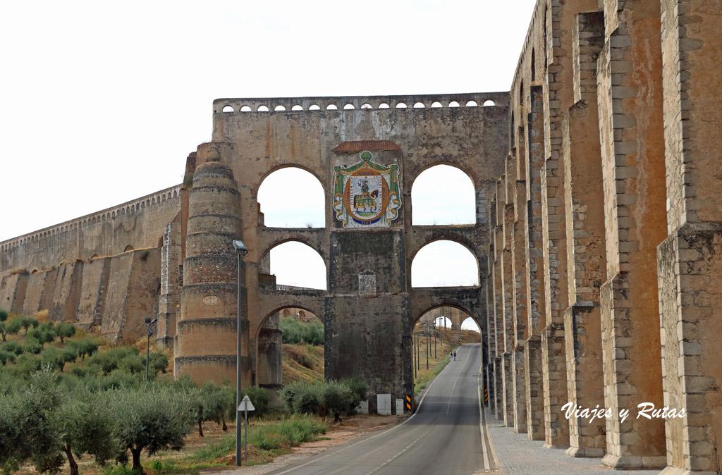 Qué ver en Elvas: acueducto de Amoreira