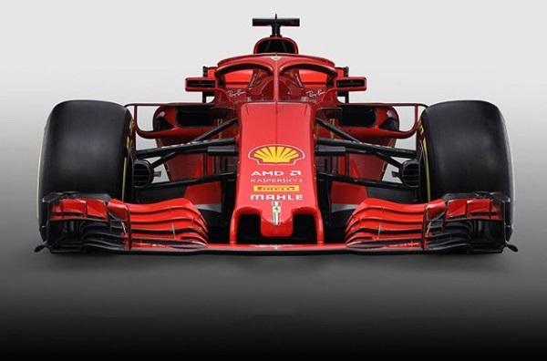 Ferrari SF71-H Fórmula 1 2018