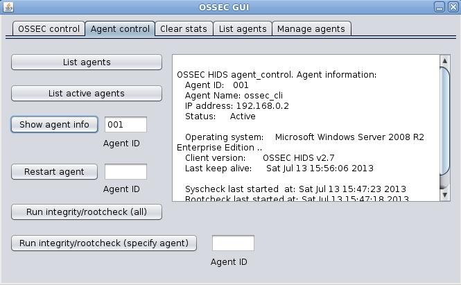 OSSEC Server GUI | SECURITY/PRODUCTIVITY/TECHNOLOGY