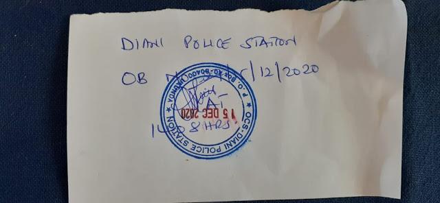Nyali MP Mohamed Ali OB at Diani Police