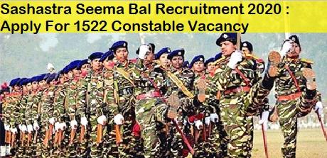 SSB job india