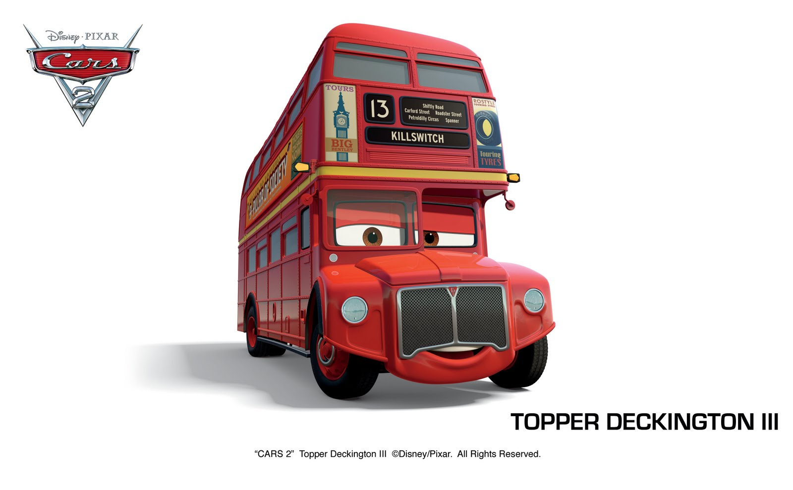 Tow Mater Cars Movie Wallpaper 1920x1200 Pic New Posts Vrl Bus Wallpapers