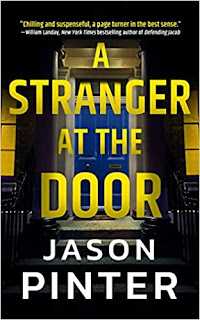 Book Review and GIVEAWAY: A Stranger at the Door, by Jason Pinter {ends 1/18}