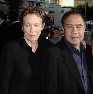 Delora Vincent with her husband Irving Vincent